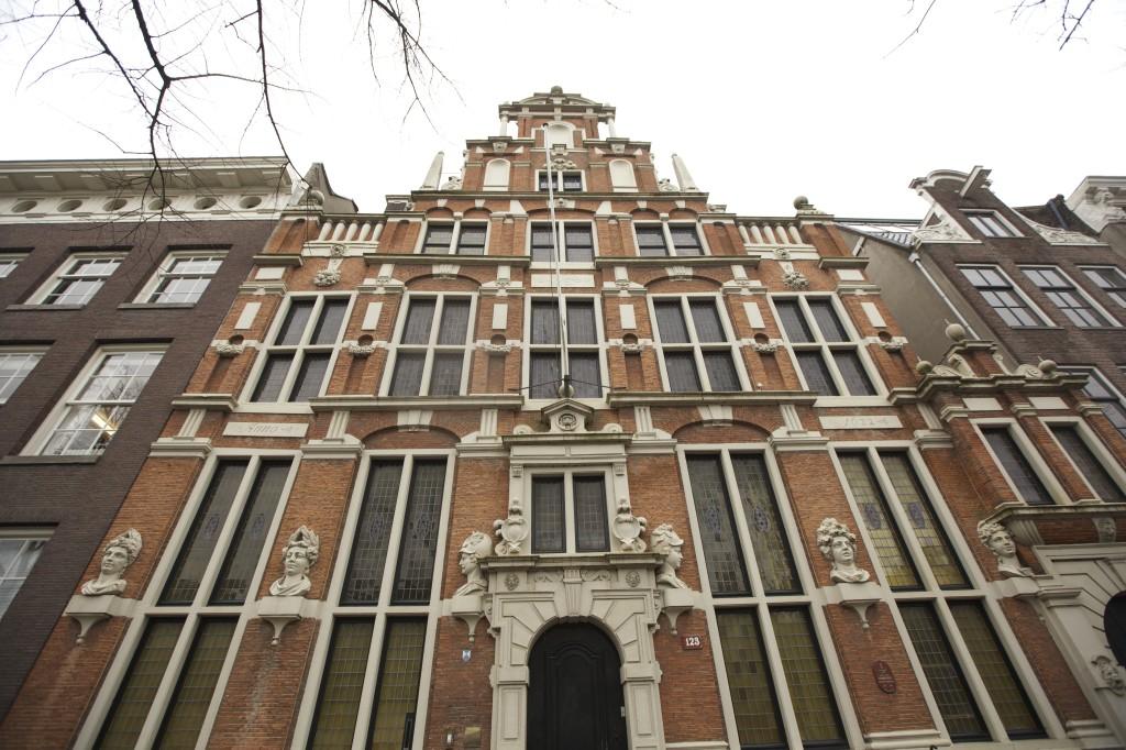 amsterdam huis met de hoofden