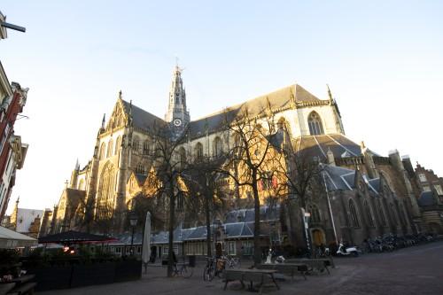Grote of St. Bavokerk in Haarlem