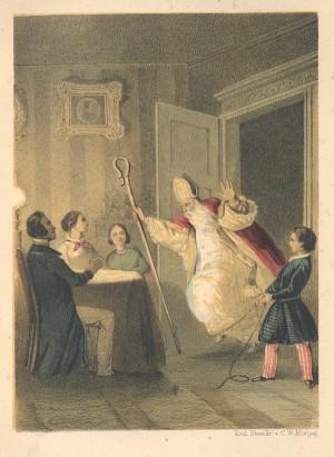 Sinterklaas Sint Nicolaas kinderschrik