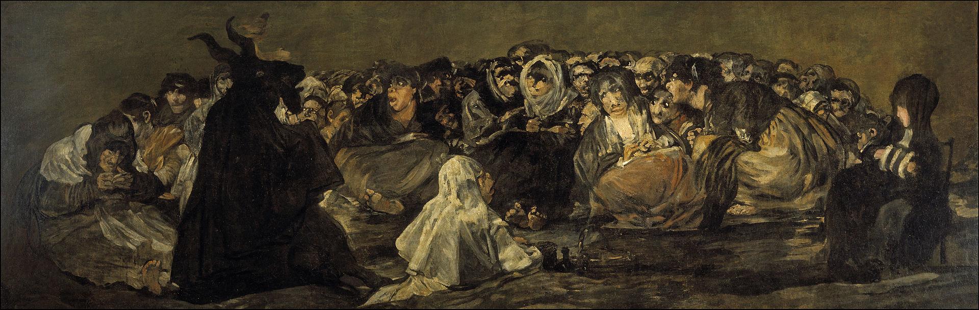De heksensabbat/Francisco Goya