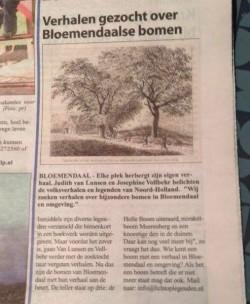 Bomen Bloemendaal